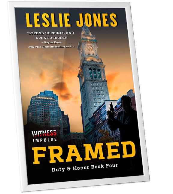 Framed Book Cover